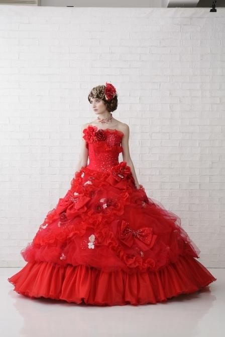 おすすめドレス3:レッド